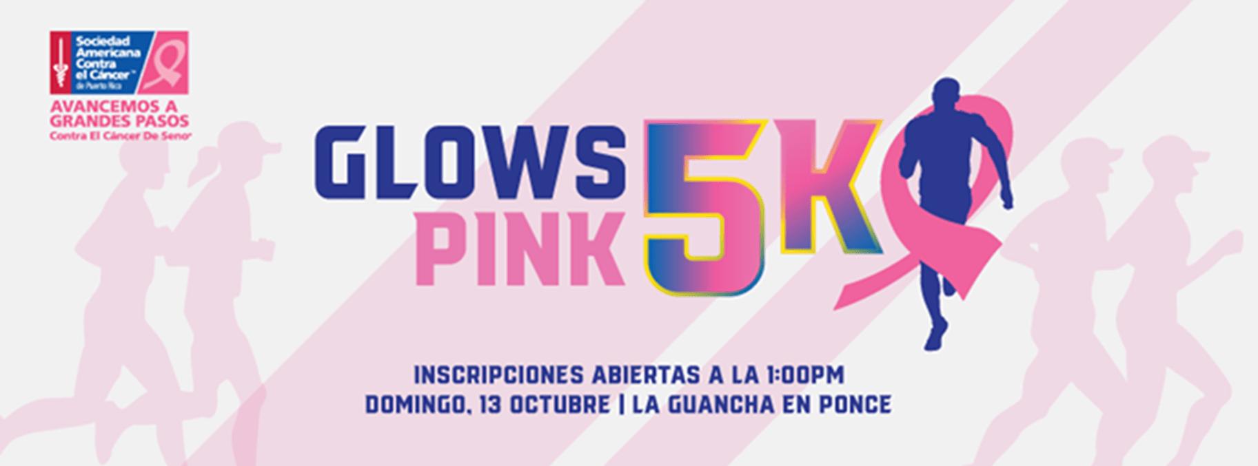 Ponce Glows Pink 5k 2019
