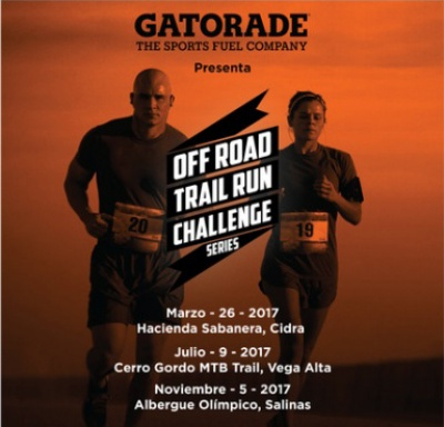 Off Road Trail Run Challenge Series Powered by Gatorade - Nov 2017