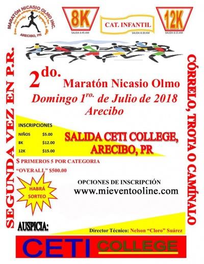 2do Maratón Nicasio Olmo