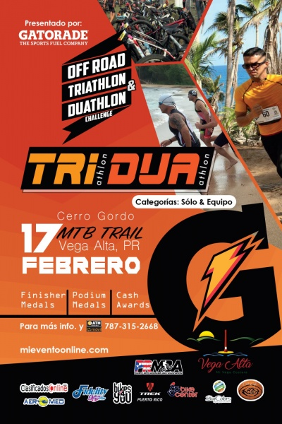 Off Road Triathlon & Duathlon Challenge - Cerro Gordo