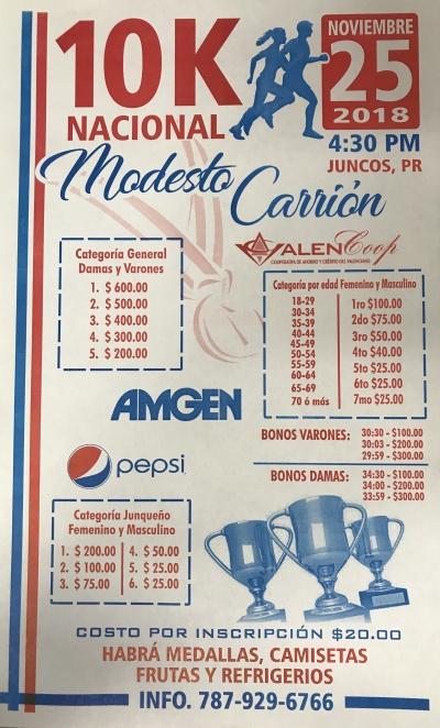 10K Nacional Modesto Carrion