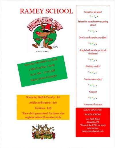 Ramey School Jingle Bell Run