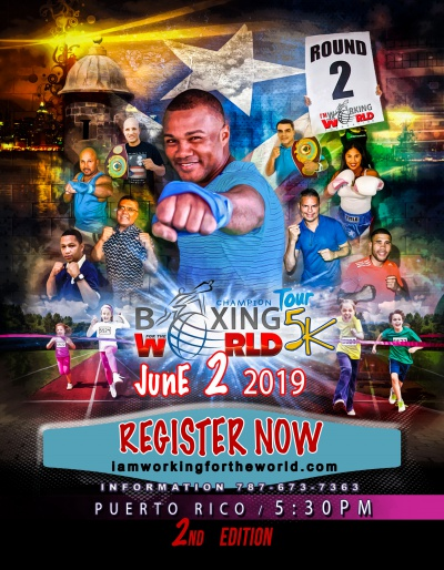 Boxing For the World 5k