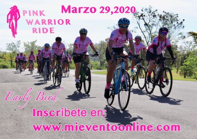 Pink Warrior Ride 2020