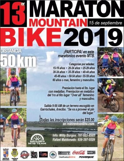 13er Maratón MTB 2019