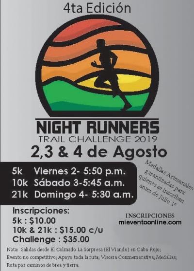 Night Runners Trail Challenge - 4a Edicion
