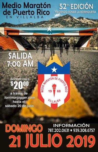 Medio Maratón de Puerto Rico en Villalba