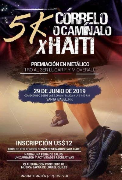 5K Córrelo o Camínalo x Haiti