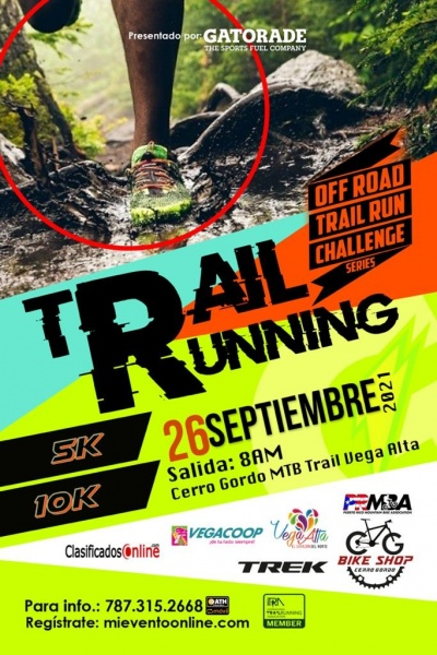 Off Road Trail Running Series - Cerro Gordo