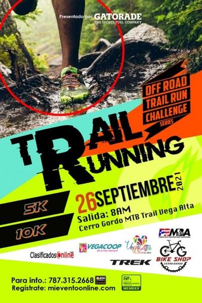 Off Road Trail Running Series - Cerro Gordo