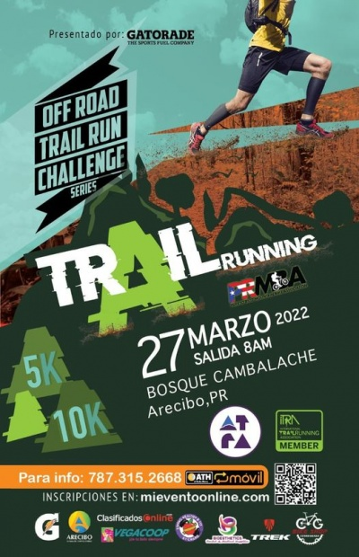 Off Road Trail Running Series - Bosque Cambalache