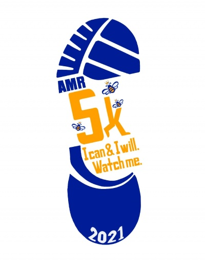 AMR 5K Virtual 2021, I can & I will. Watch me!