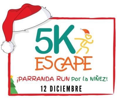 5K de ESCAPE - PARRANDA RUN por la Niñez