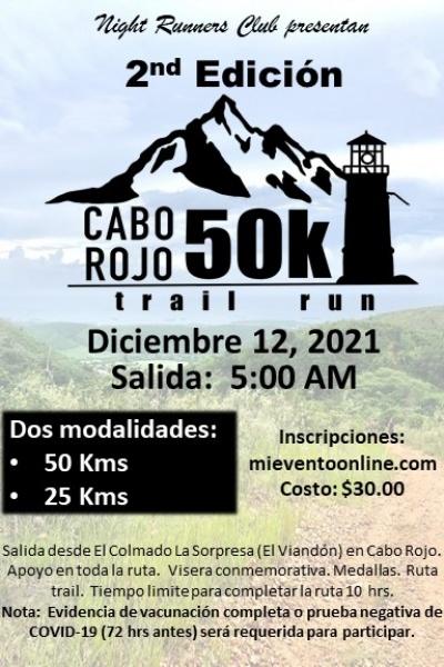 Cabo Rojo 50K Trail Run