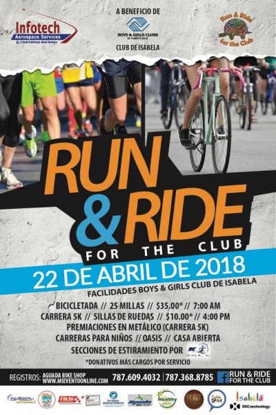 Run & Ride for the Club - 5K
