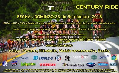 DETERMINATION TOUR CENTURY EDITION